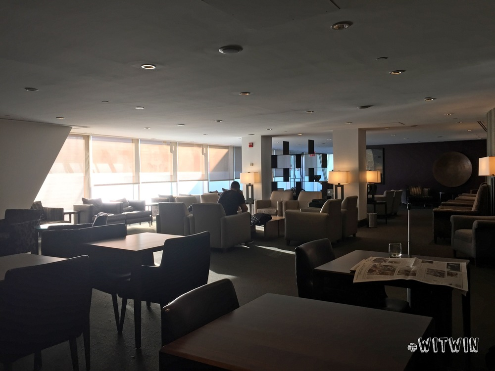 Galleries Lounge seating area