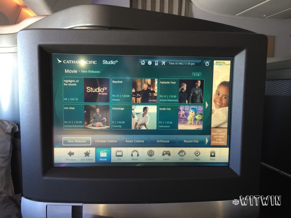 In-Flight Entertainment system - Studio CX