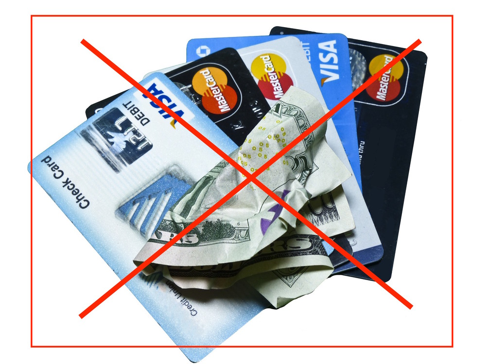 Say NO! to cash & debit card when making purchases or paying expenses