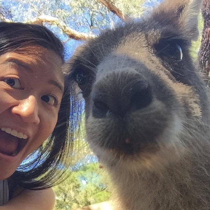 Making friends down under!