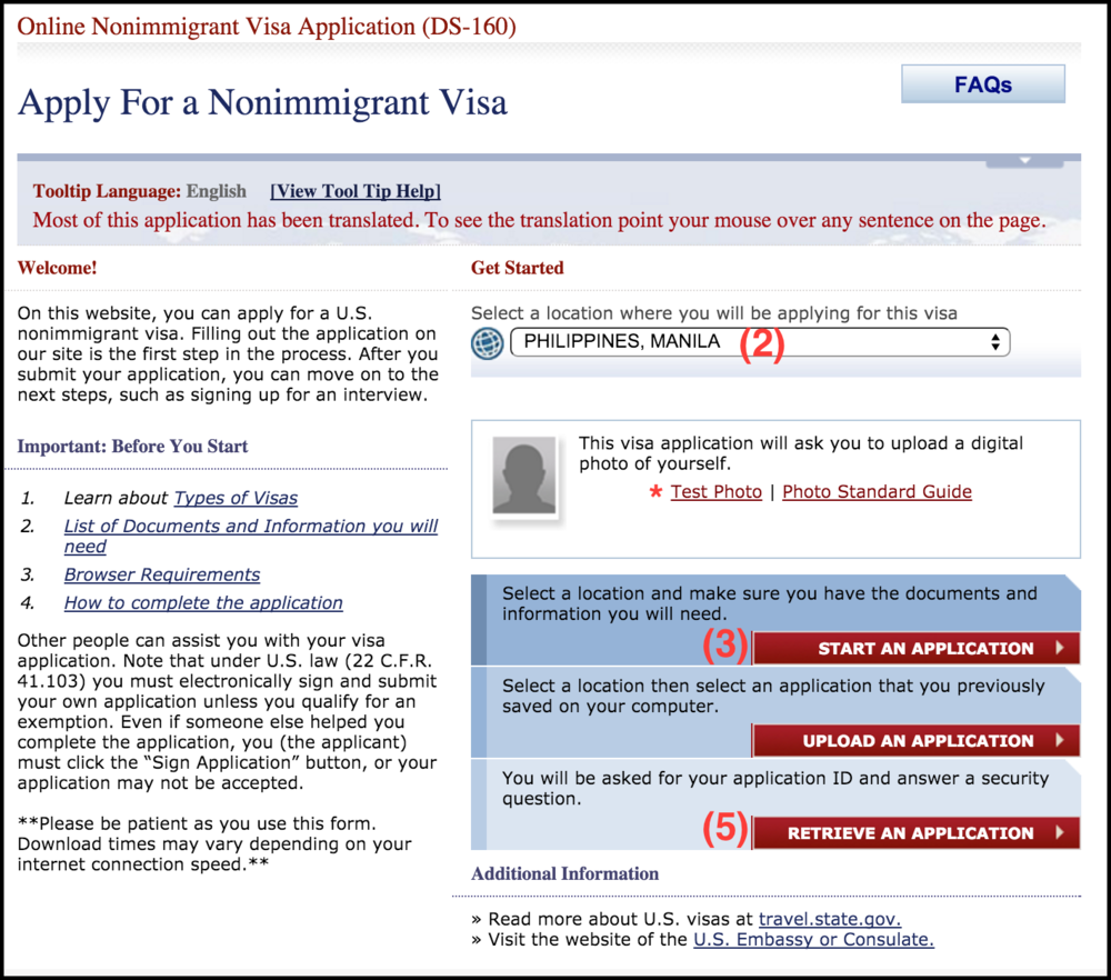 The ultimate guide to getting a usa visitors visa b1b2 for 2 completing ds 160 form falaconquin