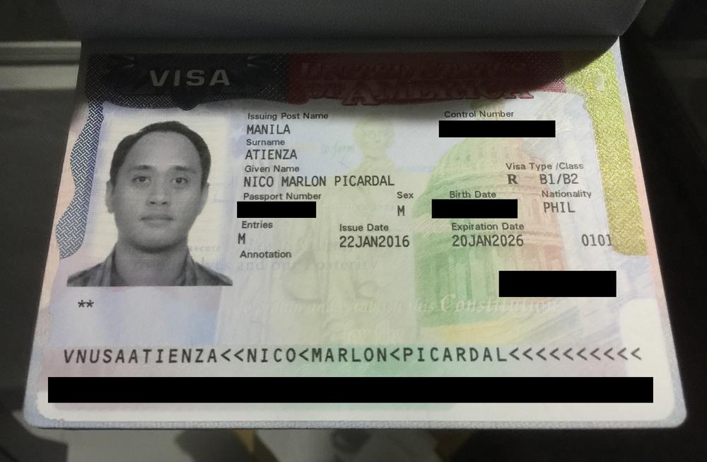 10 Year B1/B2 Visa