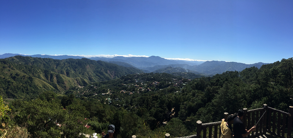 Beautiful views in Baguio