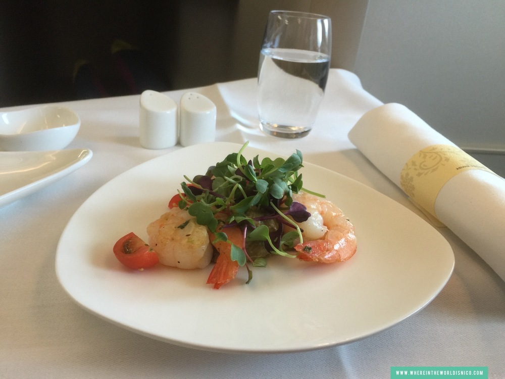 asiana-a380-icn-lax-grilled-prawn.JPG
