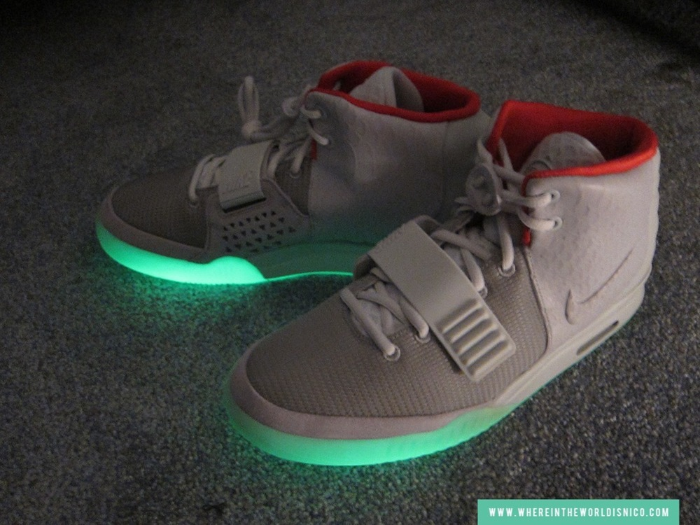 The infamous Air Yeezy II designed by Kanye West (street value $3,000)