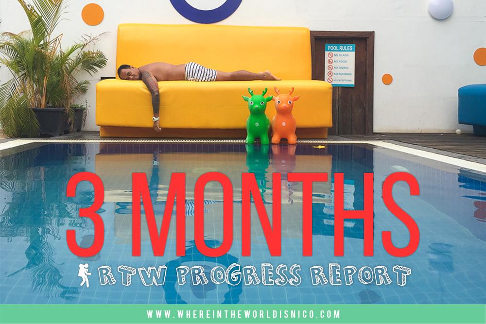 RTW Progress Report: 3 Months