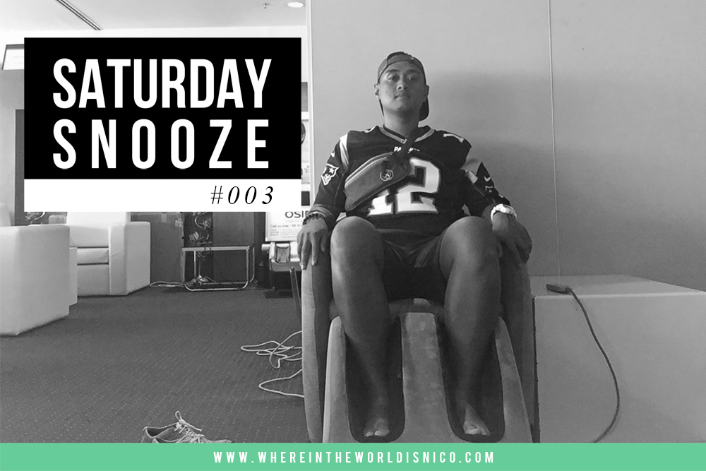 Saturday Snooze #003