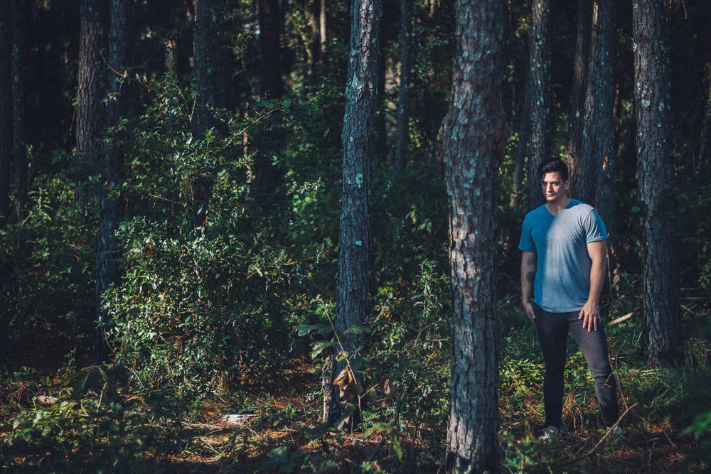 The photo Ben loves… woodsy and dark. photography by Samuel Febres