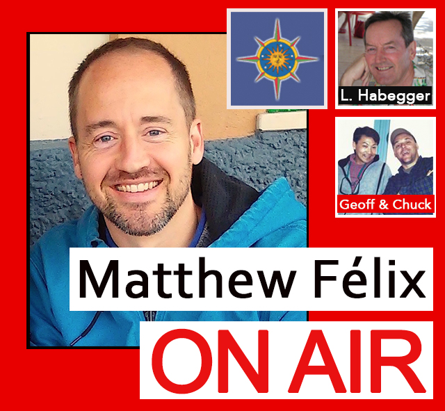 "On today's ""Matthew Félix On Air"" radio show and podcast on FCCFree Radio (fccfreeradio.com)  my first guest will be Travelers' Tales' Larry Habegger. Larry is about to head to Morocco to lead a Deep Travel writing workshop. We'll discuss workshops, the upcoming Morocco one, and Larry's work teaching and coaching writers.  In my second segment, my ""trashy friends"" Chuck and Geoff will talk about how doing a good deed in Point Reyes became a habit. We'll discuss the work they do, what motivates them to do it, and some of the more exciting discoveries they've made in the process. Live every Sunday from 2:00- 4:00 Pacific time on fccfreeradio.com, ""Matthew Félix On Air"" features author Matthew Félix and guests discussing writing, travel, and whatever else piques Matthew's interest, from spirituality to cultural happenings to the outdoors to anything with a good story worth exploring. Matthew's guests have included New York Times bestselling novelist Jasmin Darznik (The Good Daughter); one of the world's most accomplished photographers, Bob Holmes; and, travel-writing legend Don George, among many others. FCCFree Radio programs produce more that 1,000,000 page views per month and generate 200,000+ listeners of live hosted content."