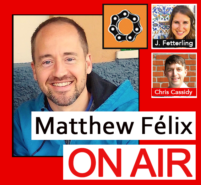 "My first guest on this episode of ""Matthew Félix On Air"" on FCCFree Radio (fccfreeradio.com) will be travel writer, editor, and proud Oaklander Jessie Fetterling. Jessie is a contributor to Time.com, Mother Earth News, The Press Democrat, Sonoma Magazine, and Ravishly.com, amongst many others. She's also author of 100 Things to Do in Oakland Before You Die. Jessie will give us a comprehensive crash course on the many reasons why crossing the Bay Bridge is wonderfully worthwhile, for locals and tourists alike. In my second segment, I'll talk with San Francisco Bicycle Coalition's Communications Director, Chris Cassidy. We'll discuss the Coalition's history, mission, and initiatives. Chris will also clue us into the the state of biking in San Francisco, including issues facing bikers and progress being made toward an increasingly bikable city--and world. matthwfelix.com/on-air-episodes"