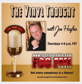 Comedian Joe Hughes invited me onto his radio show and podcast to  talk writing, travel, and more .
