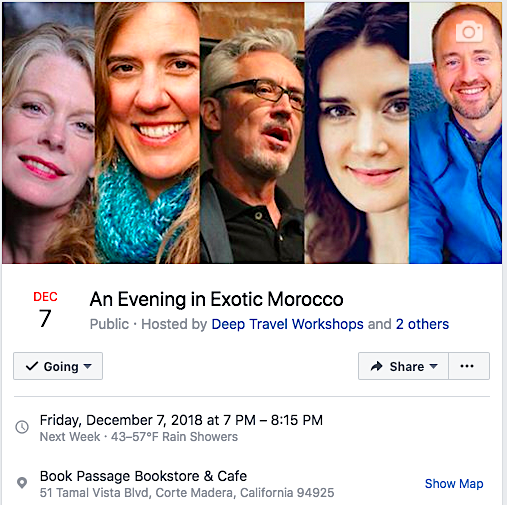 Author Matthew Felix is one of five presenters at Book Passage's Morocco event on Friday, December 7.