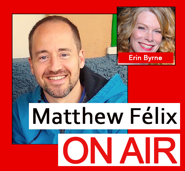 """""""Matthew Felix on Air"""": PARIS WITH AUTHOR """"ERIN BYRNE"""" Author, filmmaker, and LitWings founder Erin Byrne has had - and continues to have - a long love affair with Paris. She's written and edited books about it, and is currently working on another. She's made a film here. She holds an annual event here. I talked with Erin about how it all began, the books and film, and, of course, her recent LitWings event, which was the impetus for my own trip. We also talked magical guides, past and present; writing, Erin's time at a Paris institution, Shakespeare & Company bookstore; travel; and much more. We went deep, we had a lot of laughs. Erin even decided to hijack my close! :o . Erin Byrne is the author of Wings: Gifts of Art, Life, and Travel in France, editor of two Vignettes & Postcards anthologies—one for Paris and one for Morocco—and she is writer of The Storykeeper film. Erin's travel essays, poetry, fiction, and screenplays have won many awards including three Grand Prize Solas Awards, the Foreword Indies Book of the Year, an Accolade Award for film, and the Pinnacle Achievement Award. Erin is Travel Writing curator for The Creative Process Exhibition, which was launched at the Sorbonne and travels to the world's leading universities. Her screenplay, Siesta, is in pre-production in Spain, and she is working on a novel set in the Paris Ritz during the occupation."""