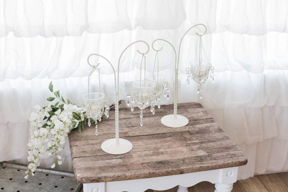 Table Top Tea Light Chandeliers (4)