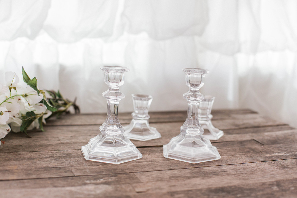 Candle Holders (2 large, 2 small)