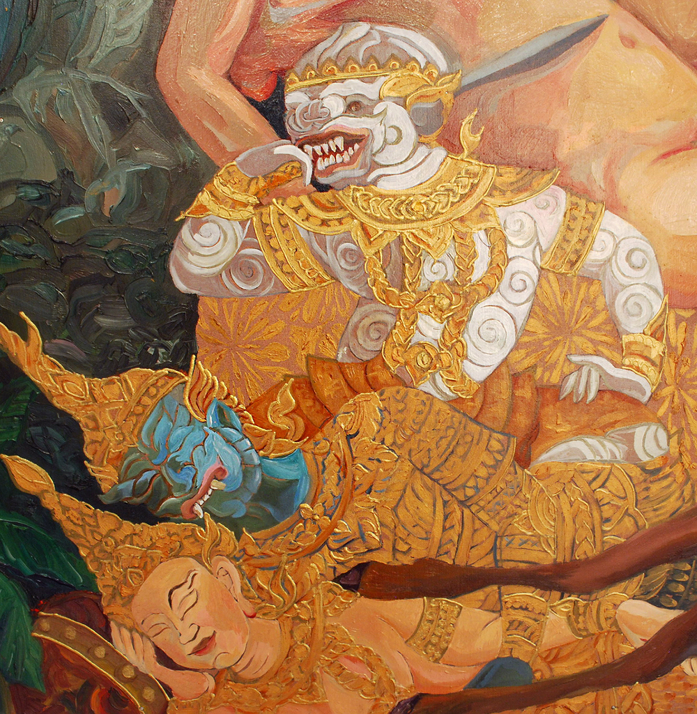 Sita as Pieta Detail