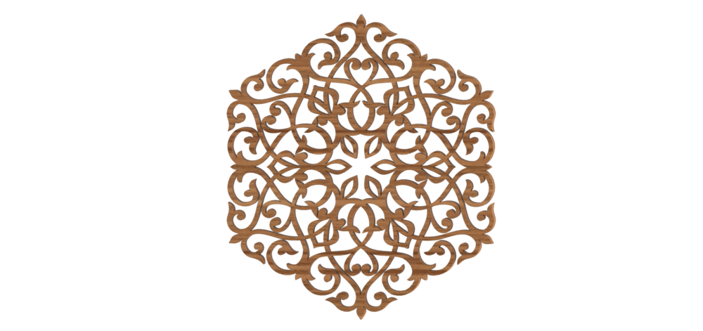 Laser Cut Wood Decor