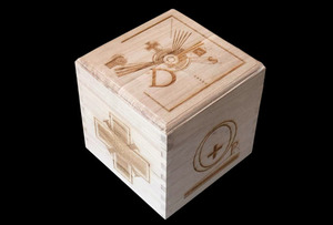 Laser Engraved Woodden Box