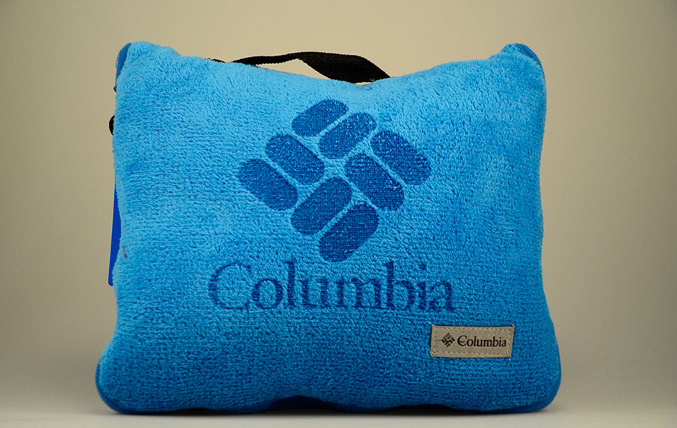 Laser Etched Branded Pillow
