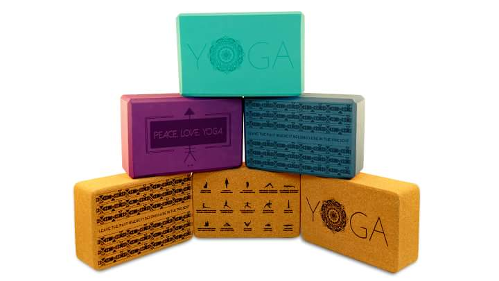 Laser Engraved Yoga Blocks