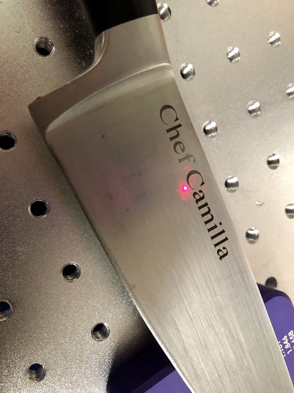 Fiber Laser Annealed Knife
