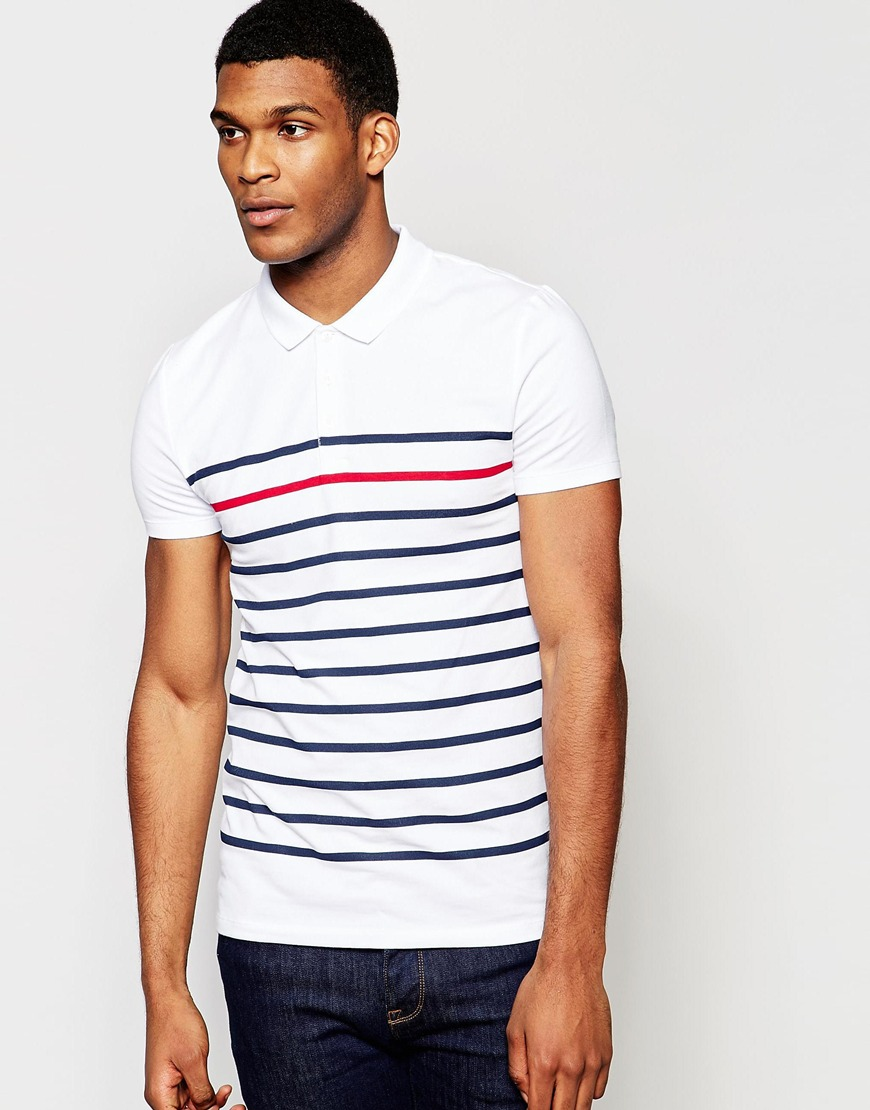 ASOS Polo - Striped