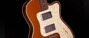 METALLIC ORANGE VENETIAN CUTAWAY H-1
