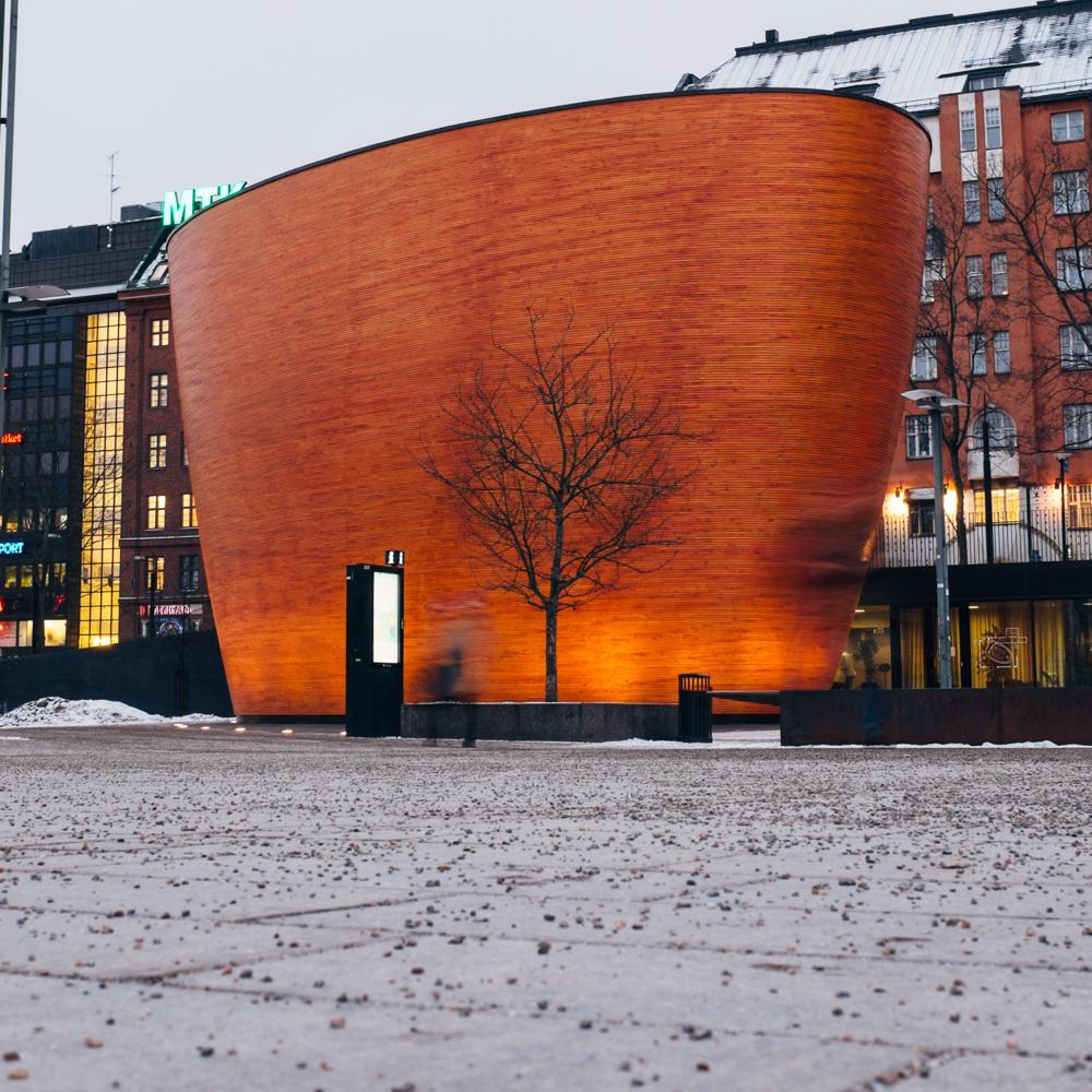 Kampin Kappeli, Helsinki.