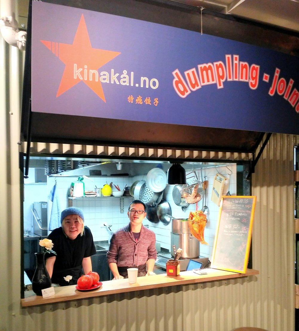 kinakål dumpling pop-up @brygg, storgata 7, oslo okt.-nov.2017. tilsammen 28794 ble produsert inne denne boden og solgt ut av dette vinduet!