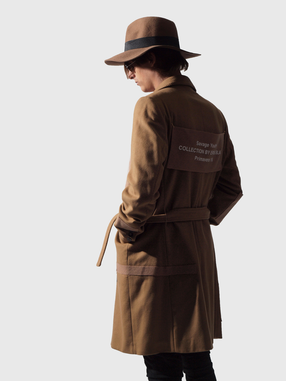 ERIS BLACK - CAMEL COAT