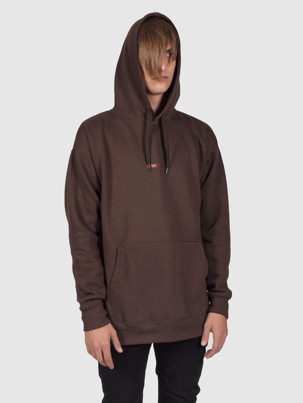 ERIS BLACK - EARTH BROWN HOODIE