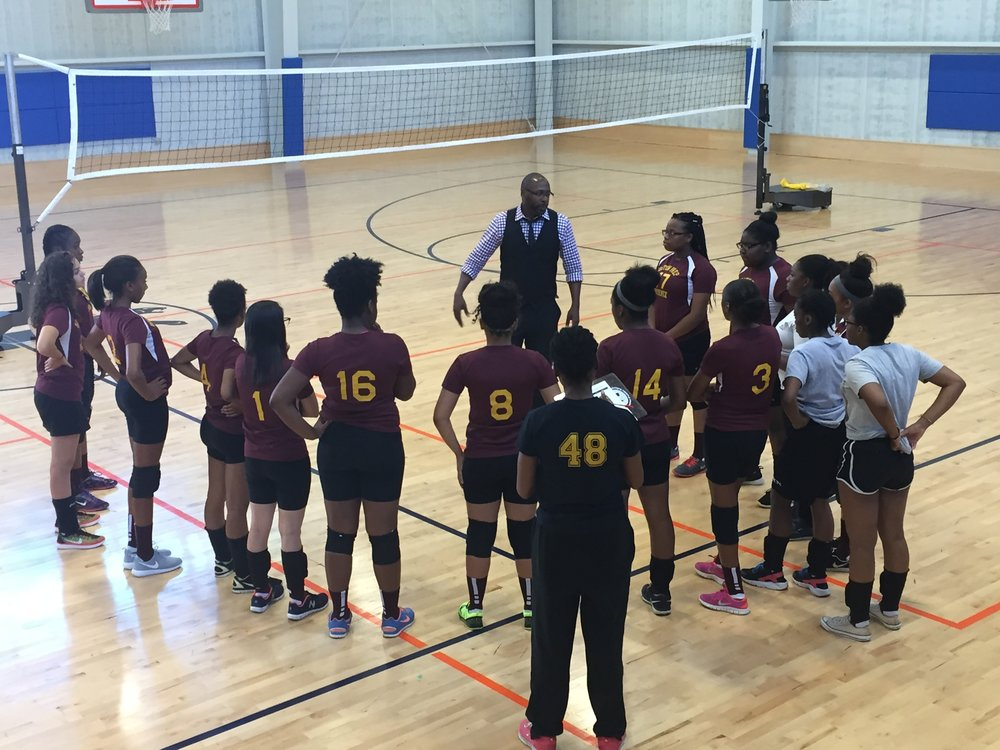 This year's volleyball team showed tremendous perseverance, making it to the playoffs with their best record yet.