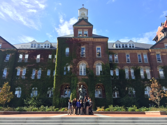 College trips, such as this trip to Saint Anselm College, were a core component of college prep activities.