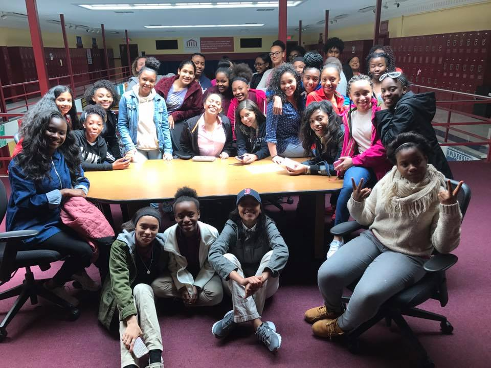 We hosted our first ever Girls Teen Leadership Summit, in which girls from both middle and high school came together to spend a Saturday strengthening their leadership skills.
