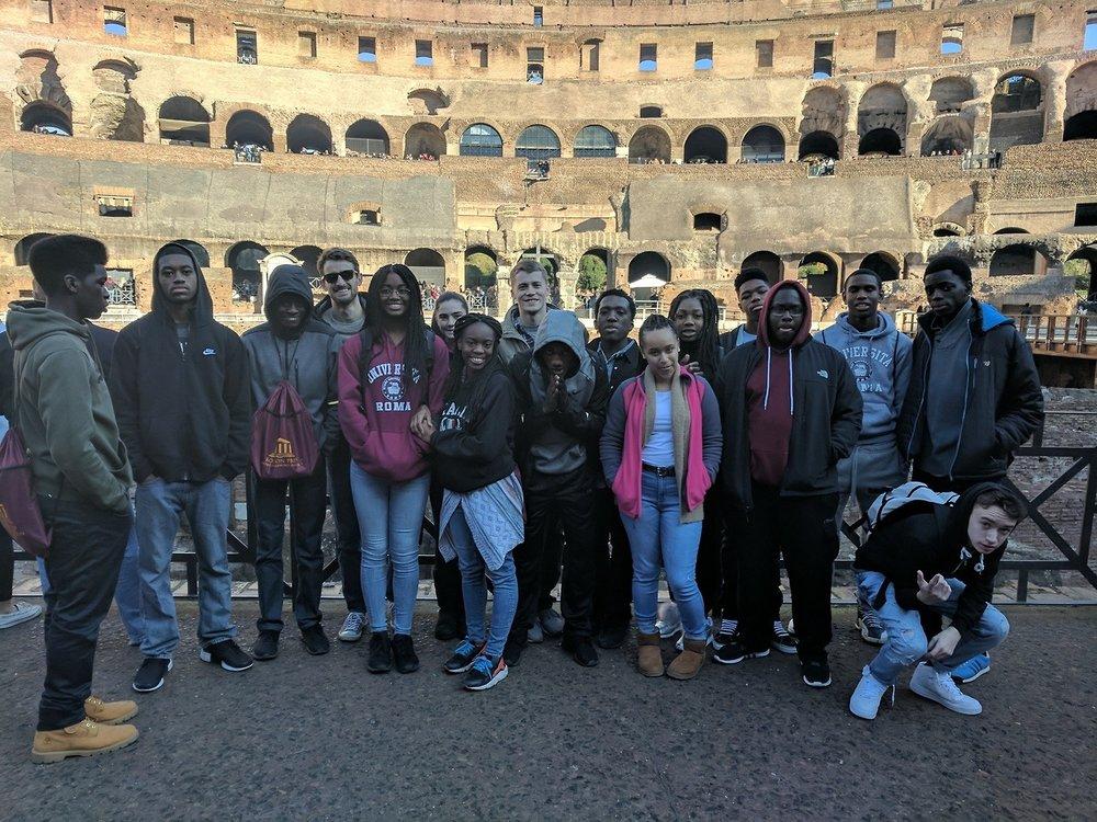 Juniors in Rome