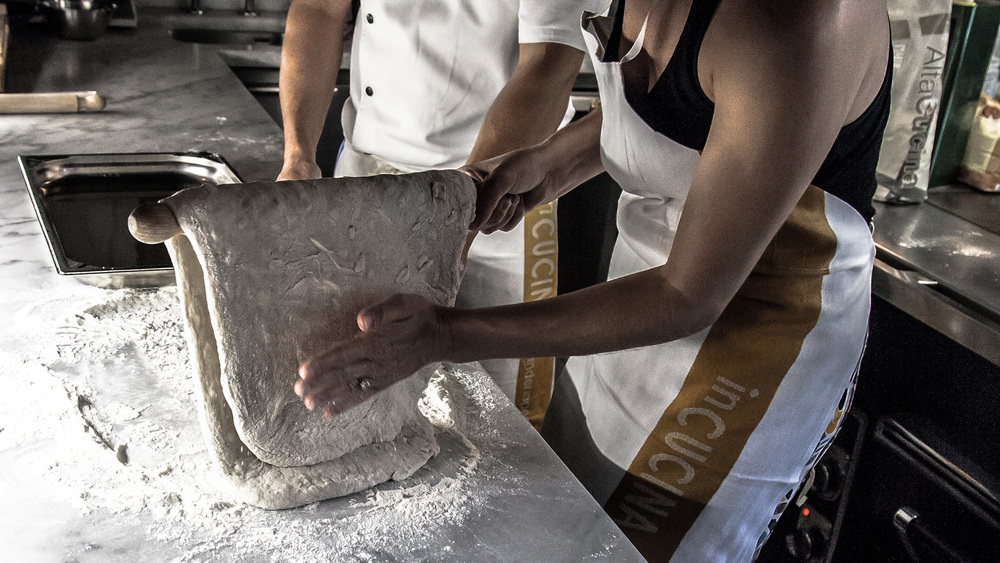 Learning to work the dough
