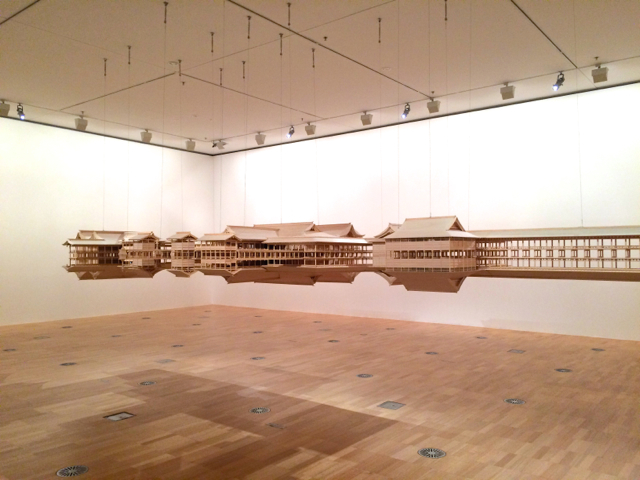'Itsukushima Reflection model' by Takahiro Iwasaki at the NGV International