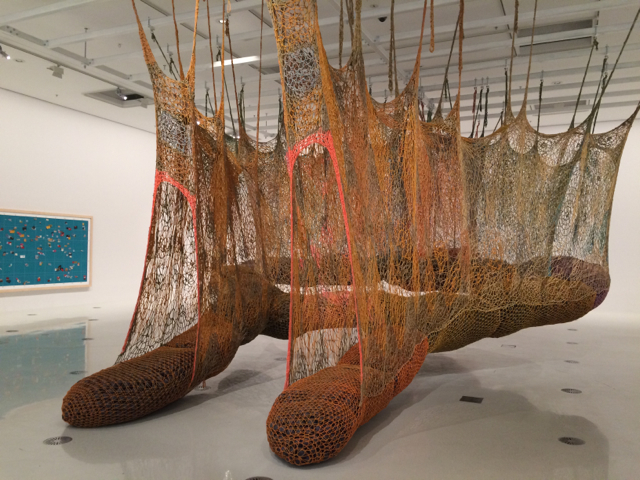 'The Island Bird' by Ernesto Neto at the NGV International