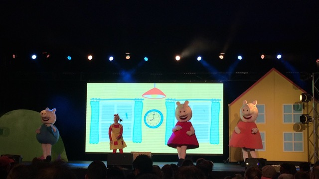 Peppa Pig Show at the Entertainment Dome