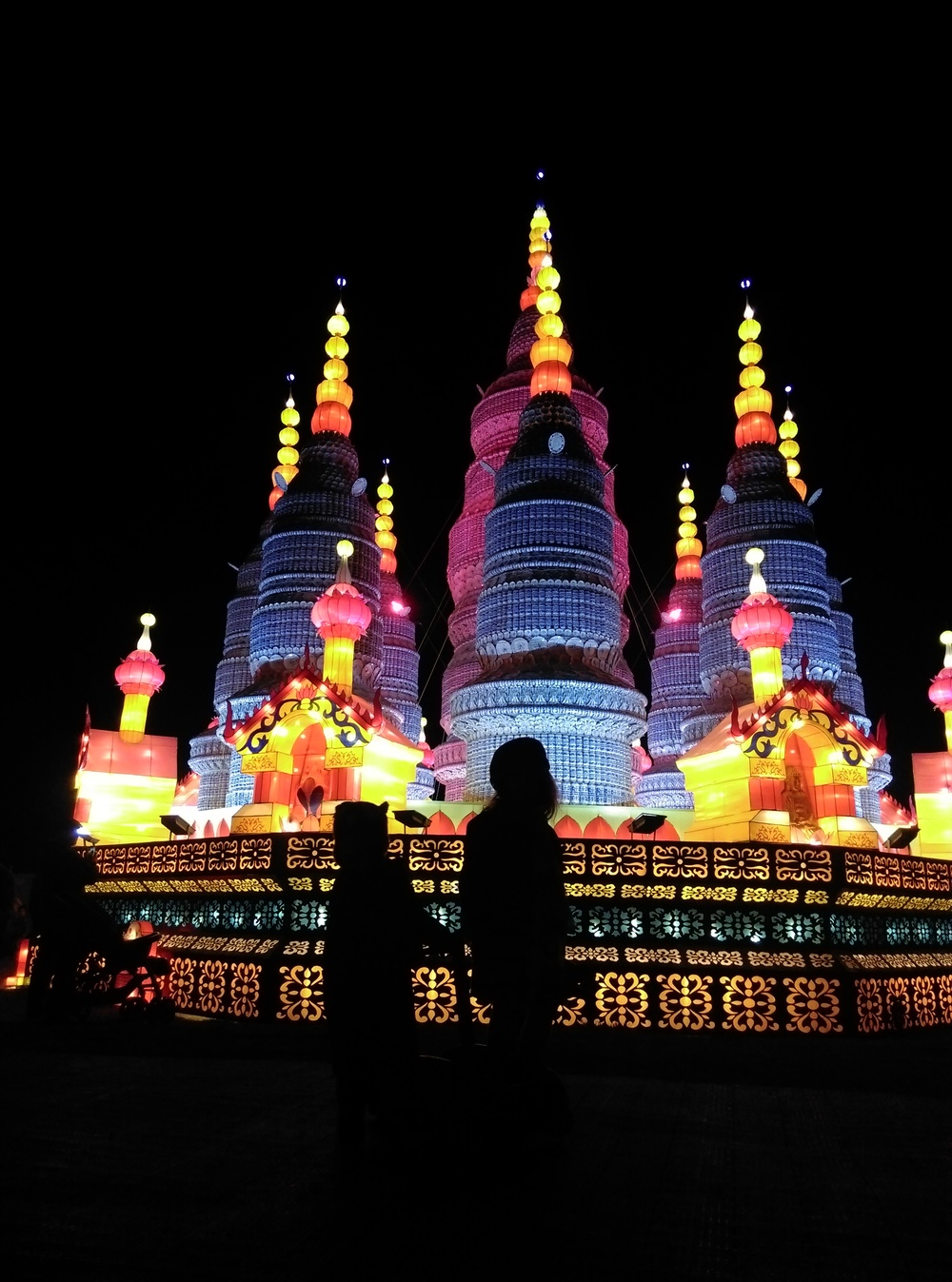 A huge temple crowns the Festival.  Photo by little.different.
