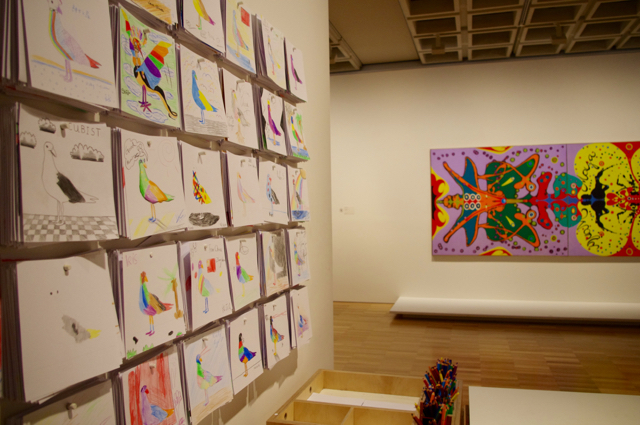 Colourwheel at the Art Gallery of NSW - photo credit: Busy City Kids