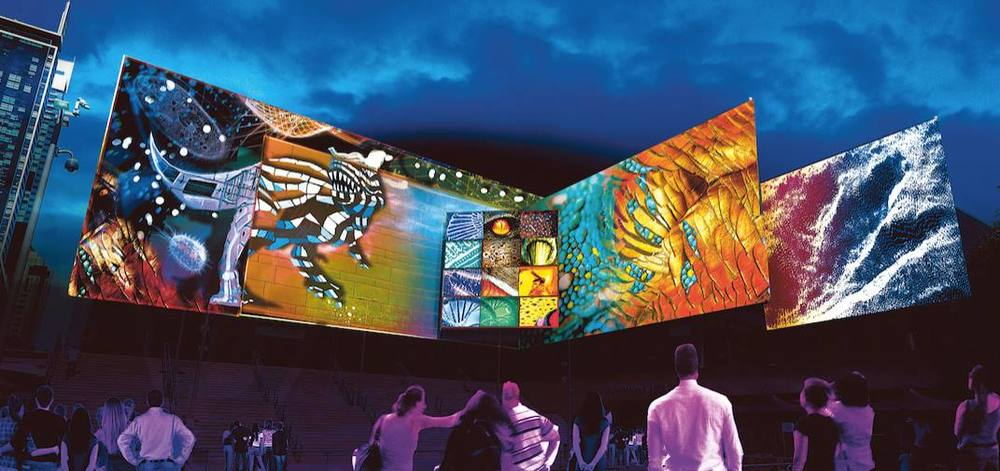 WildLight - The Bio-Kinetic City - Chatswood - Vivid Sydney 2016 - photo credit: Vivid Sydney Website 2016