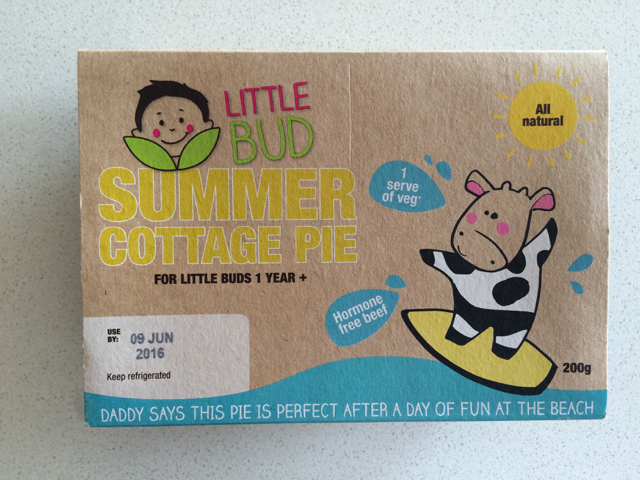 Little Bud Fresh Meals - Summer Cottage Pie