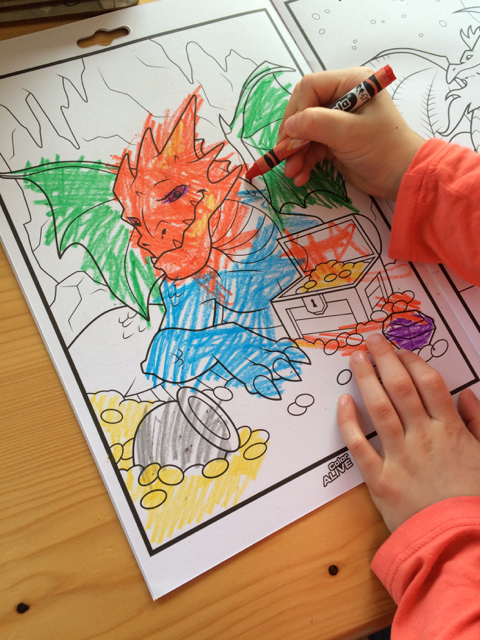 Crayola Color Alive Review - Busy City Kids