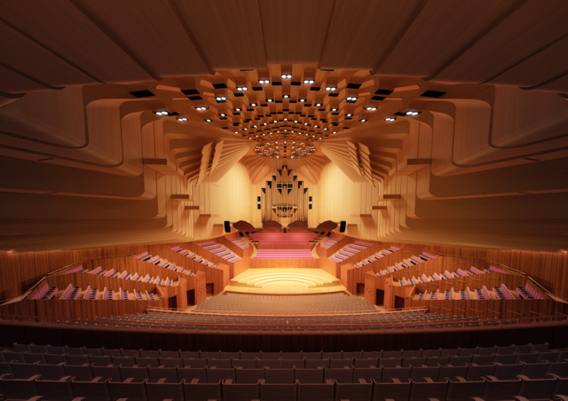 Concert Hall Upgrade - photo credit Sydney Opera House
