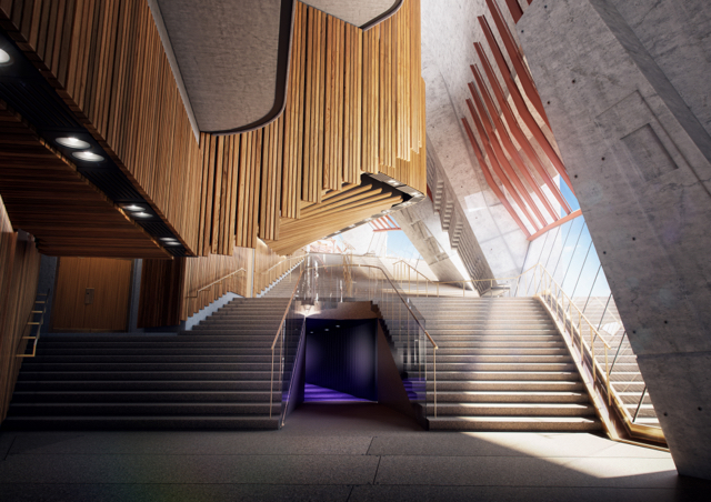 Northern Foyer Passageway - photo credit Sydney Opera House
