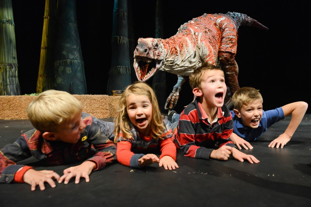 Photo Credit: Seymour Centre. Erth's Dinosaur Zoo