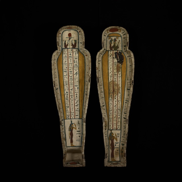 Inner coffin of Nestawedjat - Trustees of the British Museum