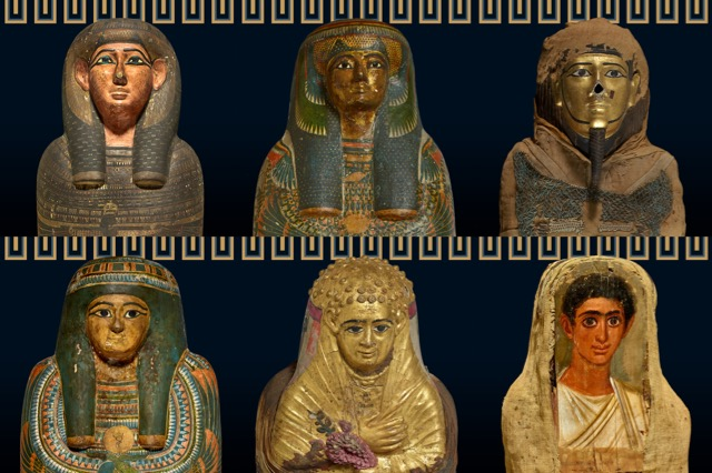 Various mummies - Trustees of the British Museum