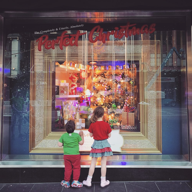 Myer - Christmas Windows - Photo credit: @melbourneminor